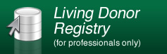 Living Donor Registry (only for professionals)